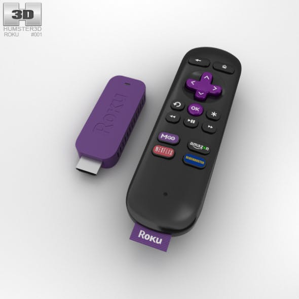 Roku Streaming Stick - 3DOcean Item for Sale