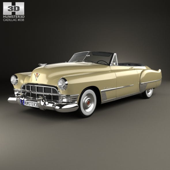 Cadillac 62 convertible 1949 - 3DOcean Item for Sale