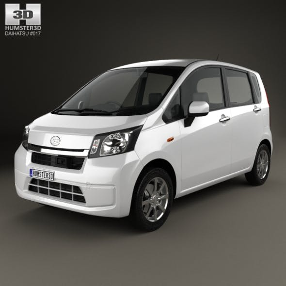 Daihatsu Move 2012 - 3DOcean Item for Sale