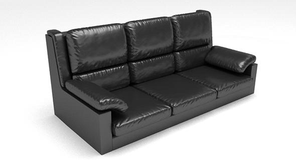 Skin sofa - 3DOcean Item for Sale