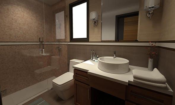 Bathroom 03 - 3DOcean Item for Sale