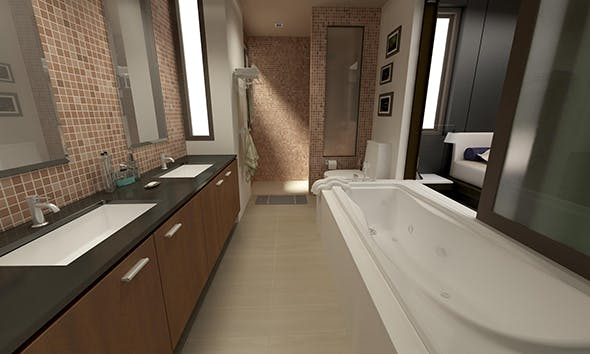 Bathroom 04 - 3DOcean Item for Sale