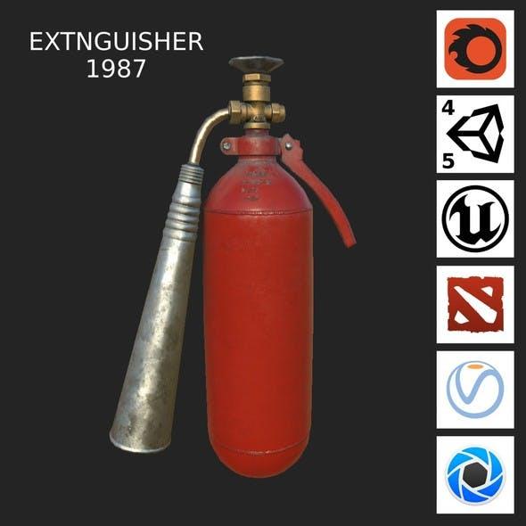 Extinguisher 1987 LOW PBR - 3DOcean Item for Sale