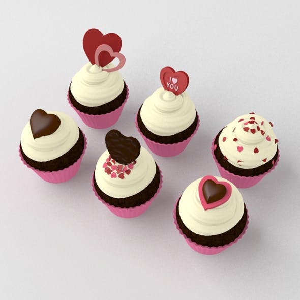 St Valentines Day Cupcakes