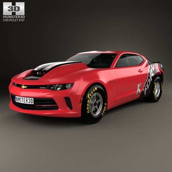 Chevrolet Camaro COPO 2016 - 3DOcean Item for Sale