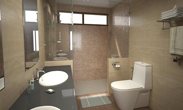 Bathroom 10 - 3DOcean Item for Sale