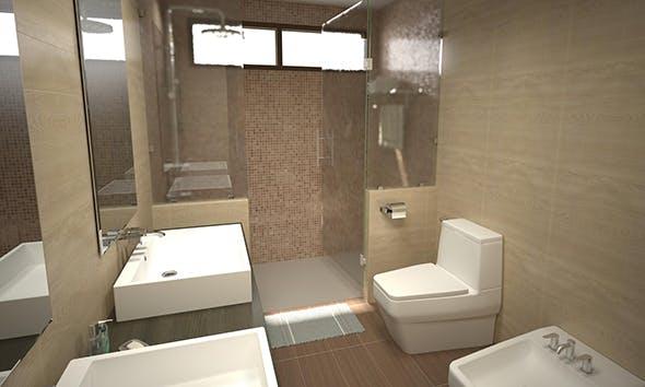 Bathroom 11 - 3DOcean Item for Sale
