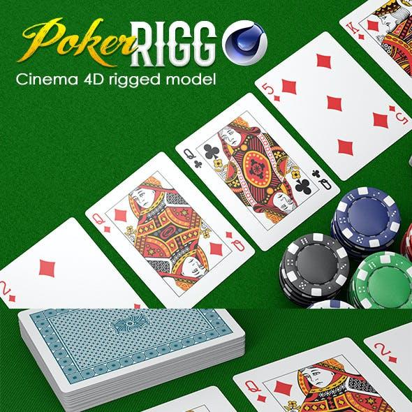 Poker Rigg C4D