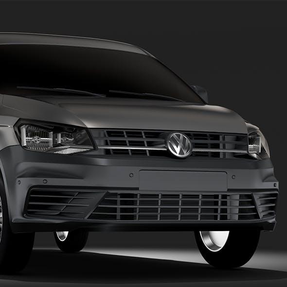 Volkswagen Caddy Panel Van L2 2RD 2017 - 3DOcean Item for Sale