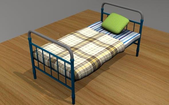 Bed Soviet - 3DOcean Item for Sale