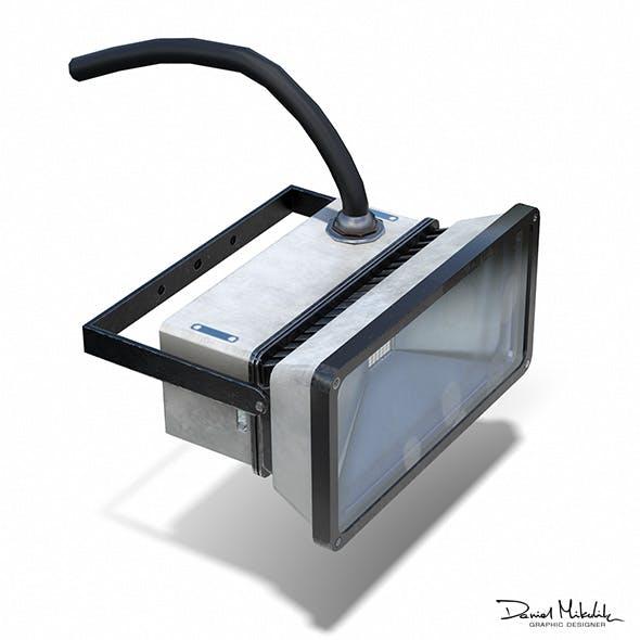 Led Halogen Low Poly PBR - 3DOcean Item for Sale