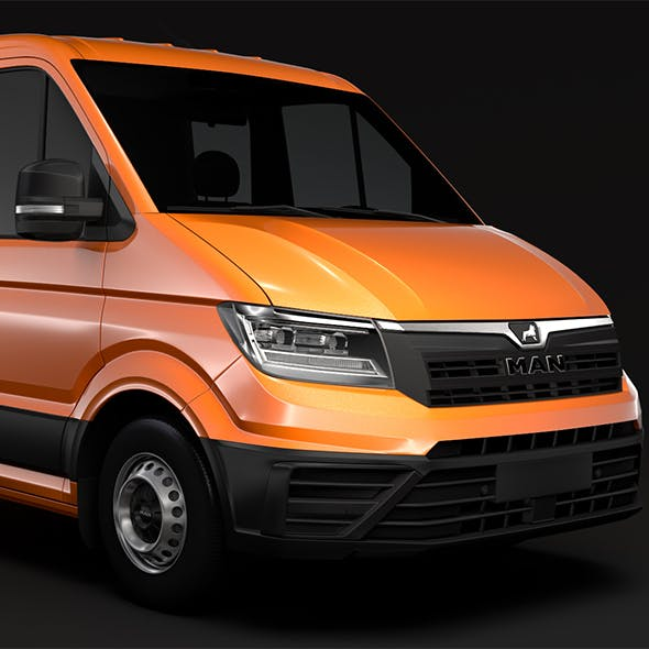 MAN TGE Chassis Double-Cab 2017