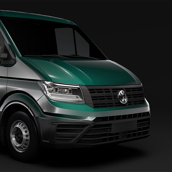 WV Crafter Chassis Single-Cab 2017 - 3DOcean Item for Sale