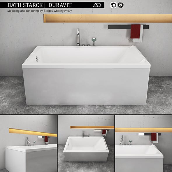 Bath Starck - 3DOcean Item for Sale