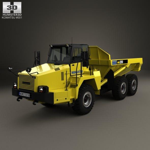Komatsu HM250 Dump Truck 2008 - 3DOcean Item for Sale