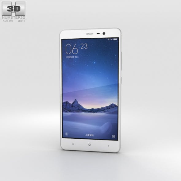 Xiaomi Redmi Note 3 Silver - 3DOcean Item for Sale