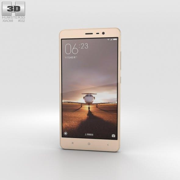 Xiaomi Redmi Note 3 Gold - 3DOcean Item for Sale