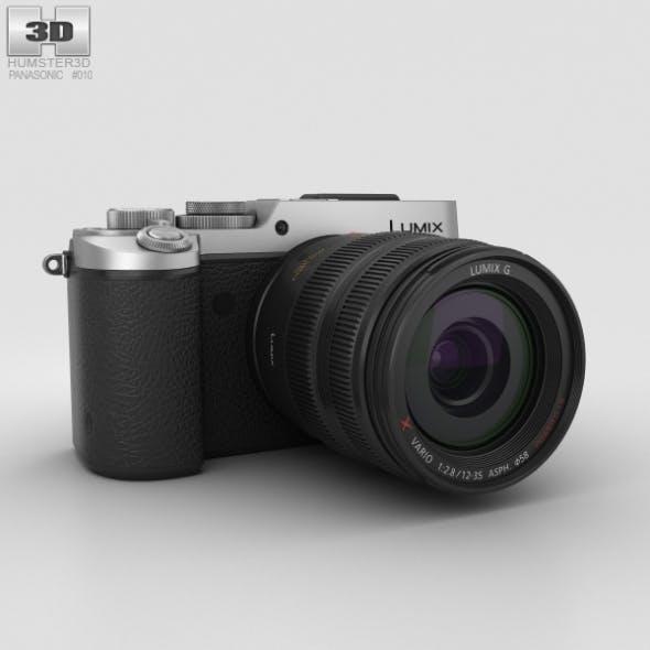 Panasonic Lumix DMC-GX8 Silver - 3DOcean Item for Sale