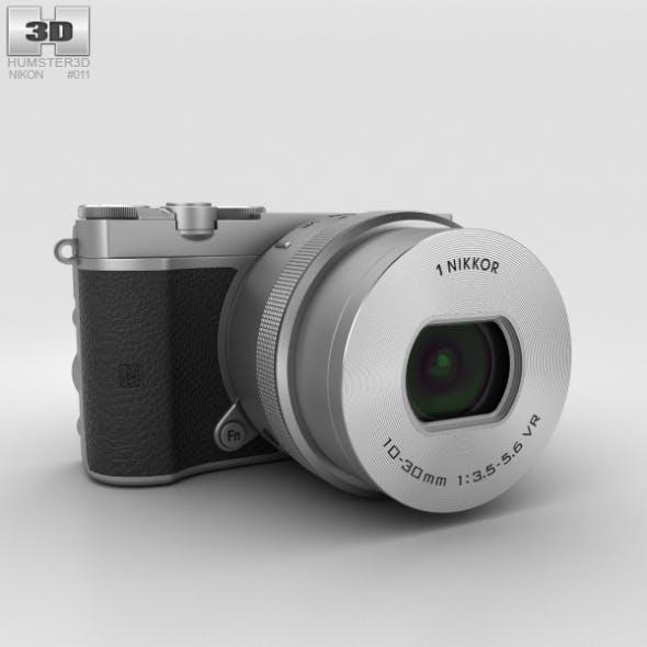 Nikon 1 J5 Silver - 3DOcean Item for Sale