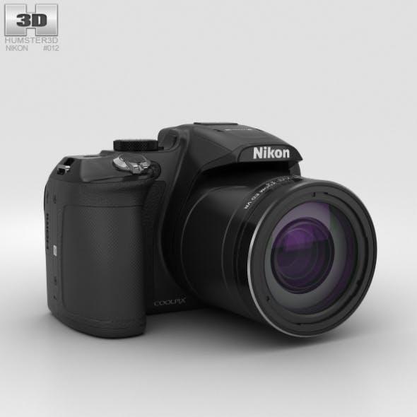 Nikon Coolpix P610 Black - 3DOcean Item for Sale