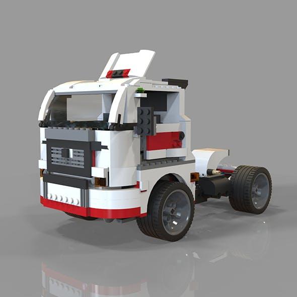 lego car truck