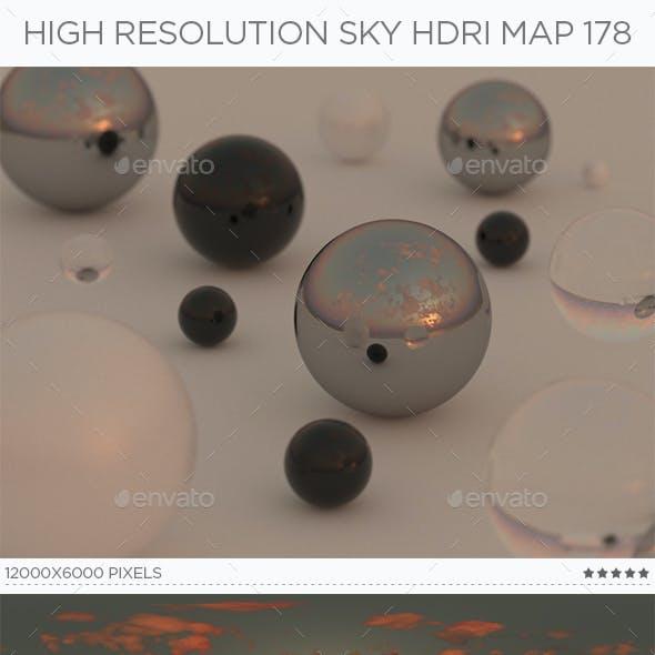 High Resolution Sky HDRi Map 178