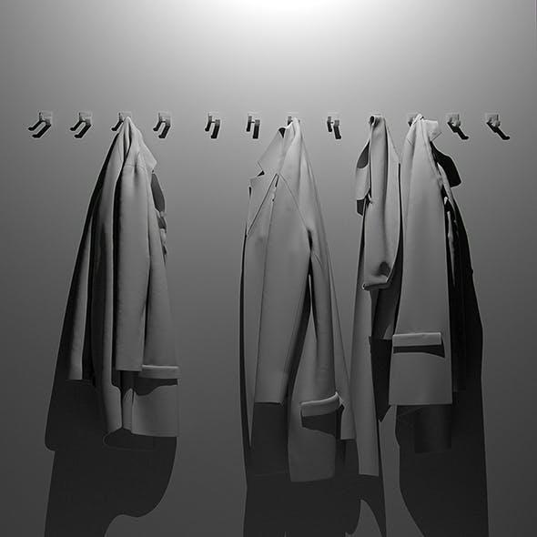 Jackets 3d model