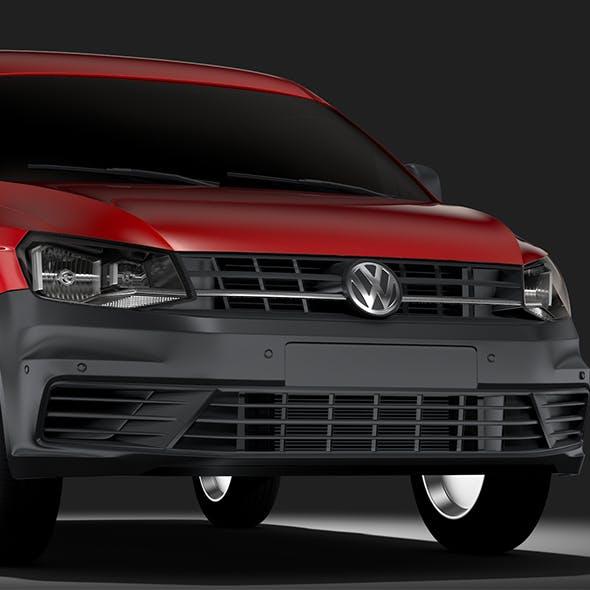 Volkswagen Caddy OneManVan 2017 - 3DOcean Item for Sale
