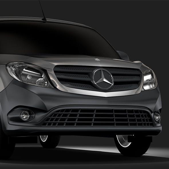 Mercedes Benz Citan Van L2 2017 - 3DOcean Item for Sale