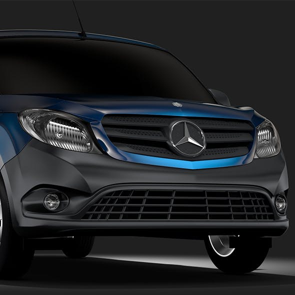 Mercedes Benz Citan Van L3 2017 - 3DOcean Item for Sale