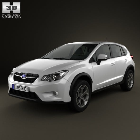 Subaru XV 2012 - 3DOcean Item for Sale