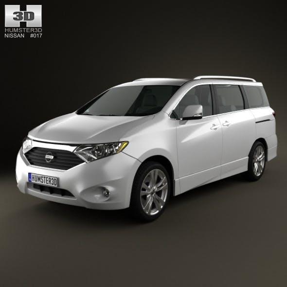 Nissan Quest 2011 - 3DOcean Item for Sale