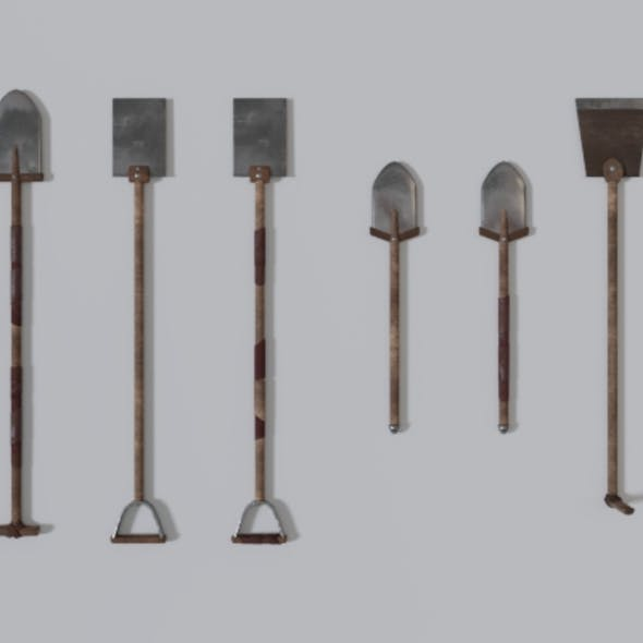 Medieval Shovel Collection