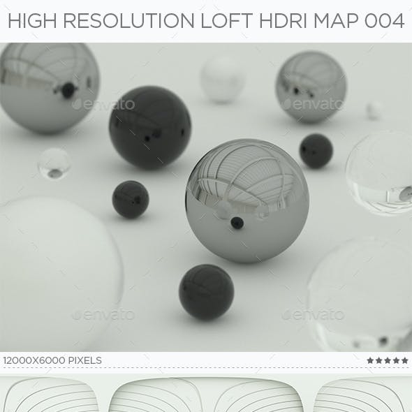 High Resolution Loft HDRi Map 004