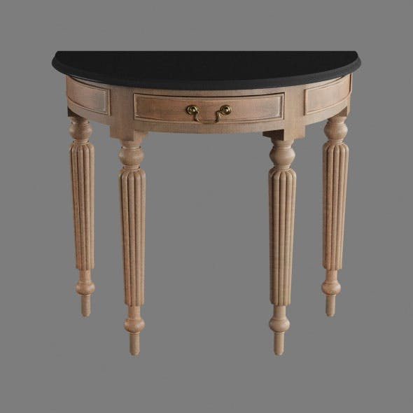 Wall table furniture home - 3DOcean Item for Sale