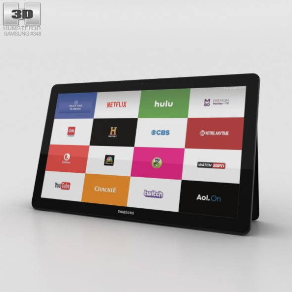 Samsung Galaxy View Black - 3DOcean Item for Sale
