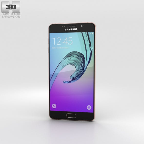 Samsung Galaxy A7 (2016) Rose Gold - 3DOcean Item for Sale