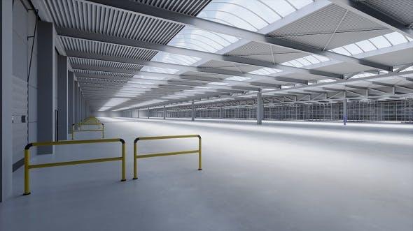 Industrial Building Interior 1 - 3DOcean Item for Sale