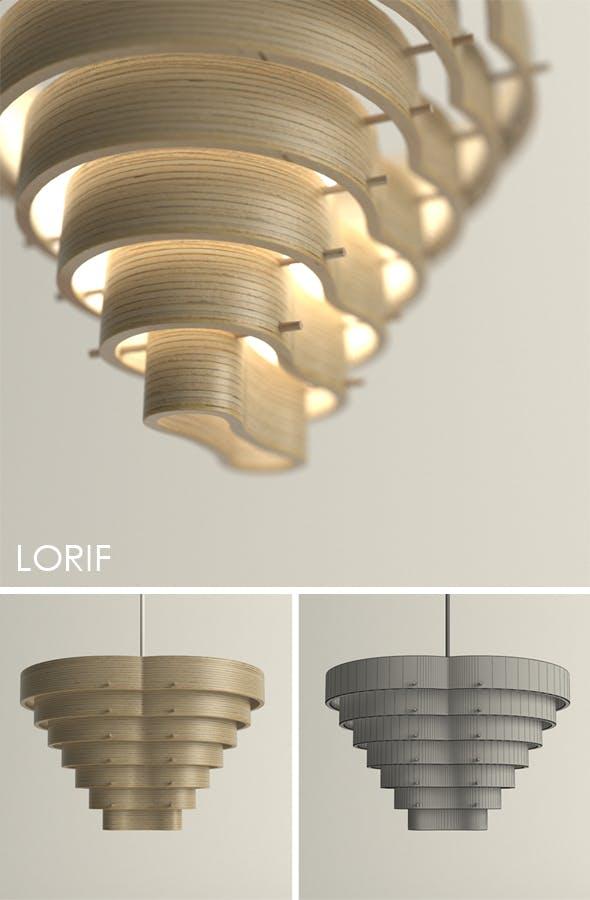Punkalive Tuma pendent light - 3DOcean Item for Sale
