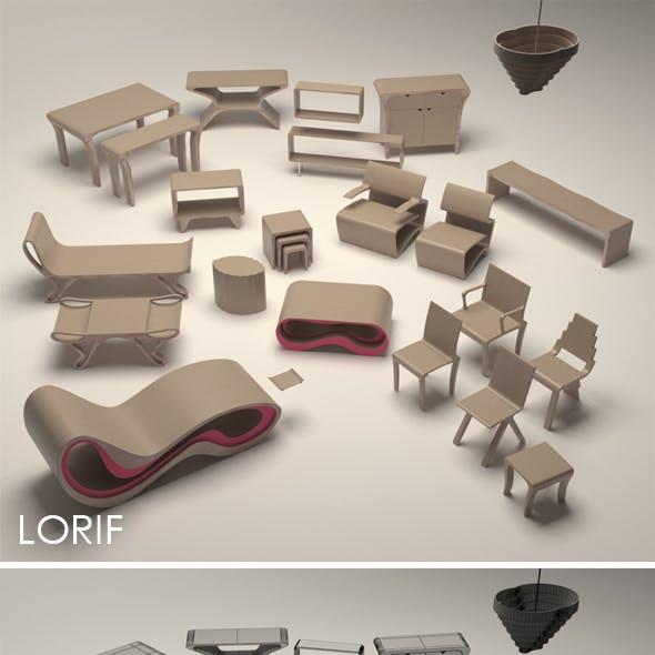 Punkalive furniture set
