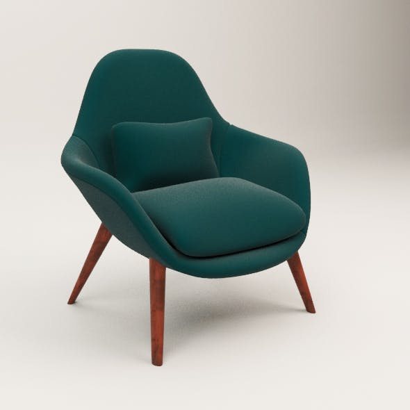 Federicia Swoon chair - 3DOcean Item for Sale