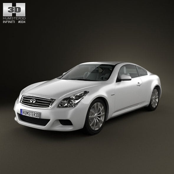Infiniti G37 Coupe - 3DOcean Item for Sale