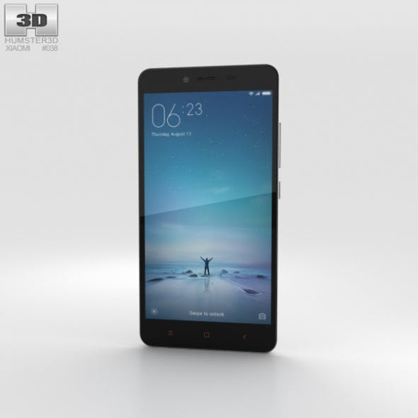 Xiaomi Redmi Note 2 White - 3DOcean Item for Sale
