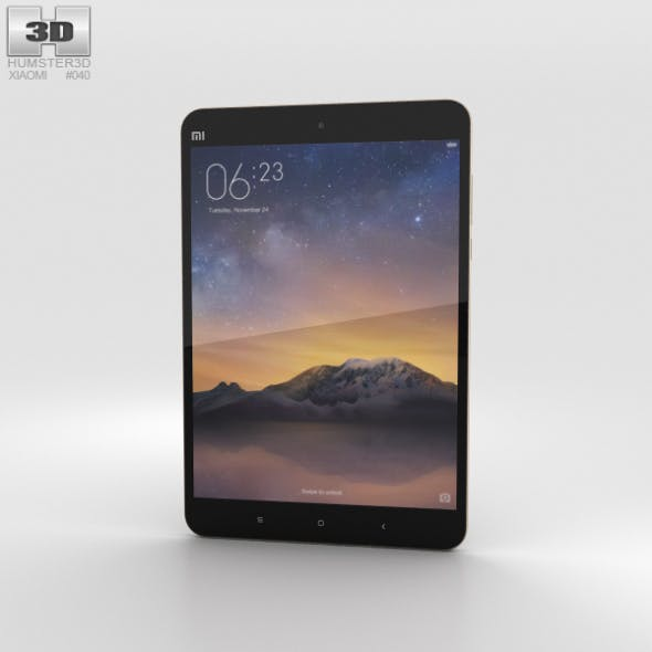 Xiaomi Mi Pad 2 Champagne Gold - 3DOcean Item for Sale