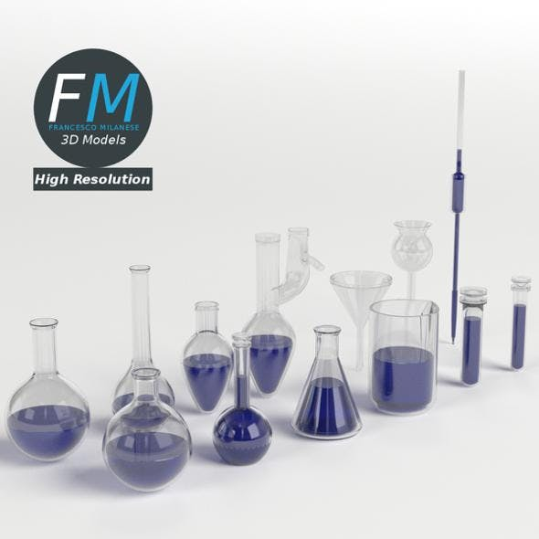 Laboratory Glassware Set