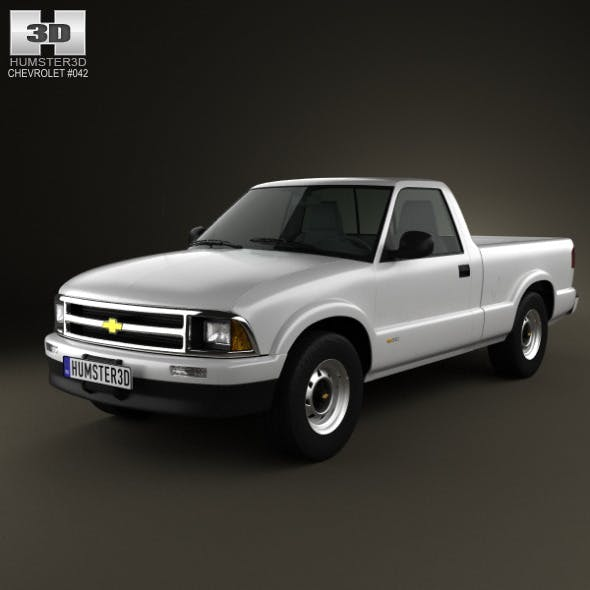 Chevrolet S10 SingleCab StandartBed 1994 - 3DOcean Item for Sale
