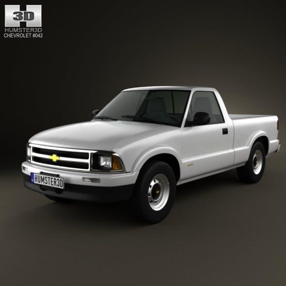 Chevrolet S10 SingleCab StandartBed 1994