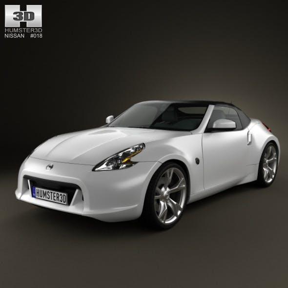 Nissan 370Z Roadster 2013 - 3DOcean Item for Sale