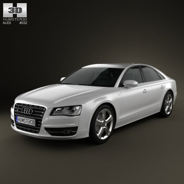 Audi S8 2013 - 3DOcean Item for Sale