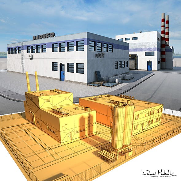 Paper Factory Low Poly PBR
